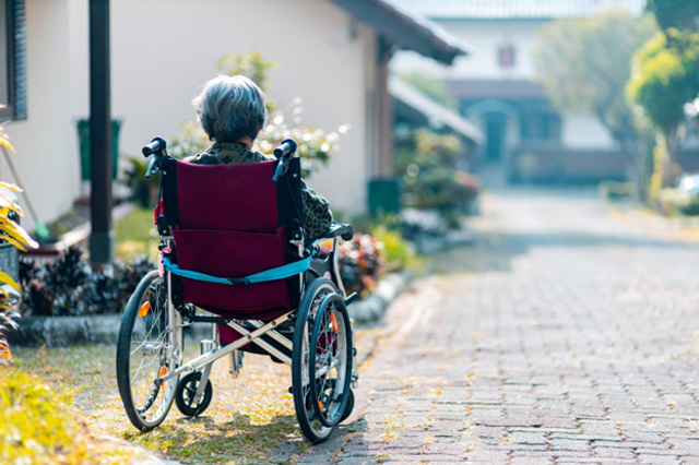 Disabled person in wheelchair - 5 Things You Need to Know About Social Security Disability Benefits